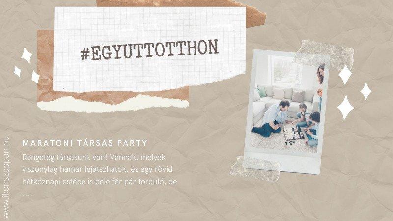 maratoni társas party